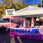 Holland Heating & Cooling Breast Cancer Booth